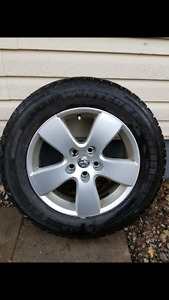 275/60r20 6 tires. 3 have rims.