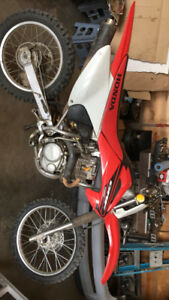 2005 CRF 150F Dirt bike
