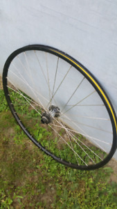 29er front wheel with 20mm hub