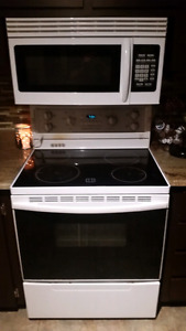Microwave and stove for sale