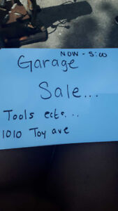 Its Saturday come to our GARAGE SALE
