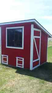 Insulated chicken coop (price reduced)