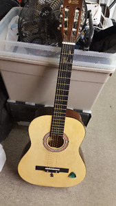 """39"""" Student Acoustic Guitar By Aileen Musical Instruments"""