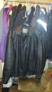 Leather jacket Peterborough Peterborough Area image 1