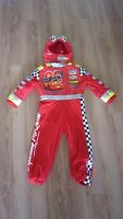 Disney store Lightening McQueen (with sounds!) costume size 5-6