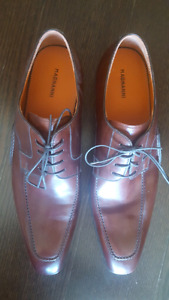 Designer all leather sole Size 15 mens shoes