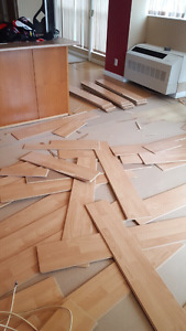 Fast professional repairs on all types of flooring