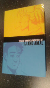 The less than epic adventures of TJ and Amal — Graphic novel