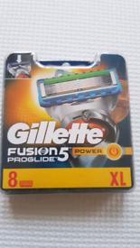 Gillette Fusion 5 Proglide Blades *BRAND NEW*