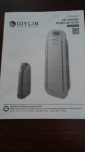 Air Purifier - Idylis HEPA/UV-C