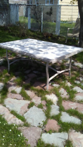 heavy outdoor patio table