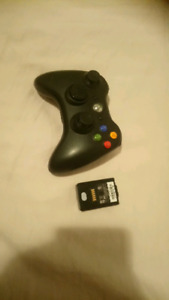 Manette Xbox 360 rechargeable