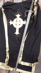 Tunic and Forged Steel Sword