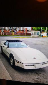 Corvette decapotable a vendre