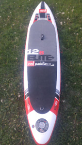 Red 12'6 elite inflateable SUP