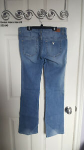 Guess daredevil bootcut size 28, in new condition