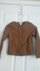 JOE FRESH Leather Like Jacket