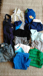 Boys 18 mth Summer Clothes