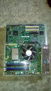 Intel Q6600 CPU And LGA 775 Motherboard