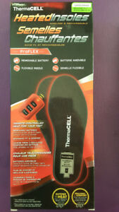 ThermaCell Heated Insoles (Large and XL)