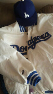 La Dodgers Jacket & Hat!