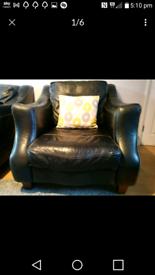 3 piece suite 100% Italian leather.
