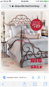 Brand new Bombay Deauville King size bed