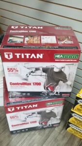 PAINT SPRAYER BRAND NEW TITAN 1700 CONTROL MAX