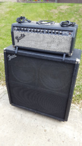 Fender Stage 100 DSP head and cab guitar amp