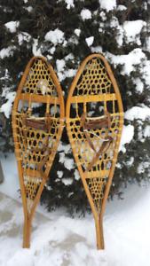 Raquettes à neige en babiche