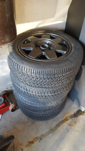 "14"" VW Volkswagon Wolfsberg Rims Jetta Golf"
