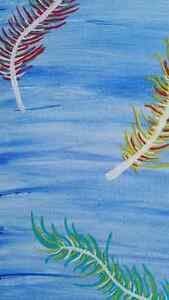 SALE - Abstract Feather Painting Peterborough Peterborough Area image 3