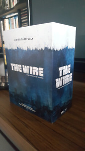 The wire complete series blu ray