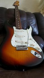 2011 Fender Stratocaster Classic 60's strat Mex 62 strat