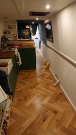 Professional floor fitter