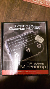 Traynor Quarterhorse - 25W Pedal Sized Amp - Price Drop!