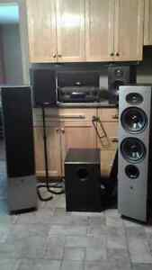 stereo system surround sound