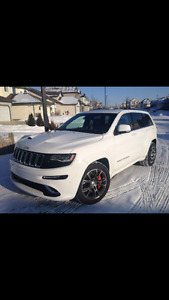 2014 Jeep Cherokee SRT8....