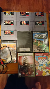 Bunch of games and video game stuff related