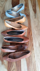 Lot genuine leather shoes