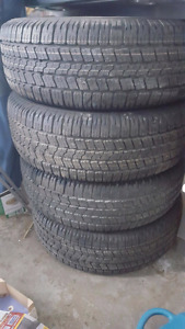 Brand New Goodyear Wrangler SR-A tires