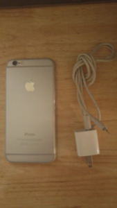 Apple iPhone 6 With 16 GB Memory And Case! Bell/Virgin!