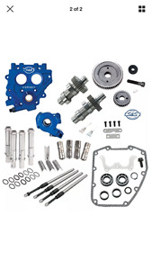 S&S 509G Drive Cam Chest Kit W/ Oil Pump and Plate Harley 99-06