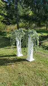 Wedding Aisle Decor - Indoor/outdoor wedding Cornwall Ontario image 2