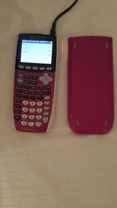 calculatrice TI-84 Plus C Silver Edition Rose