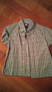Boys Tommy short sleeve dress shirt