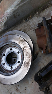 Rotors and calibers and pads  F150 6 bolt