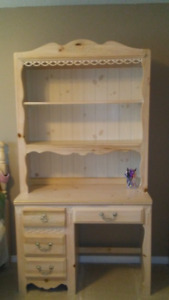Solid bleached pine bedroom set - all for only $675