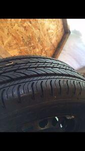 1 almost new all season michelin tire 195/65/15