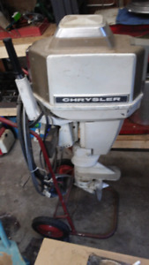 Crysler 20hp outboard
